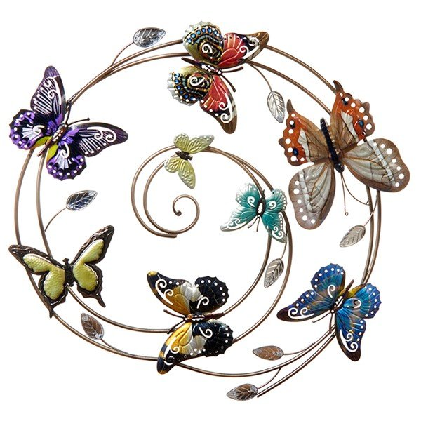 Butterfly Wall Art 60x63cm  £40