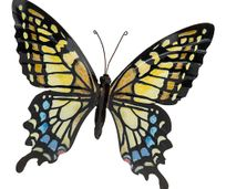 Large Butterfly (yellow) 31x35cm £10