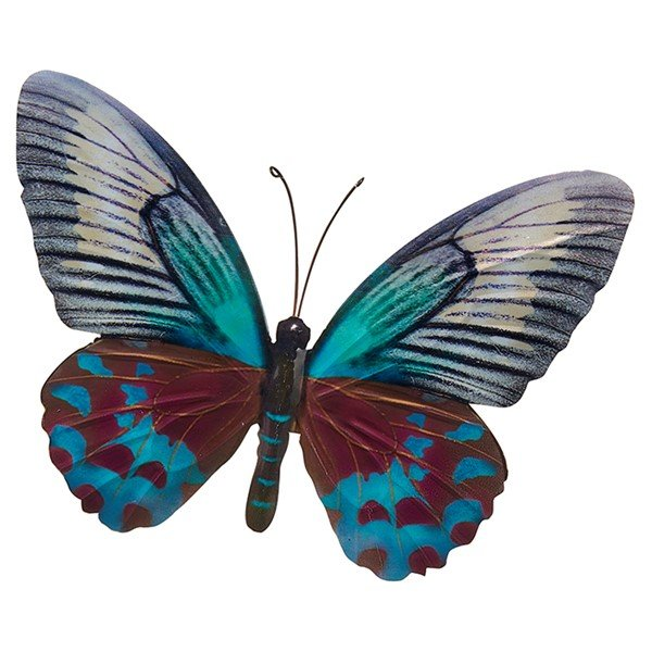 Large Butterfly (teal) 26x35cm £10