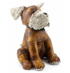 Dog Doorstop £18- Faux Leather