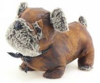 Pug Doorstop £18- Faux Leather