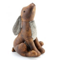 Hare Doorstop £18- Faux Lather