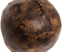 Football Doorstop £18- Faux Leather
